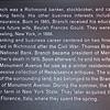 Signage: About John Kerr Branch - VA Center for Architecture - Richmond, VA