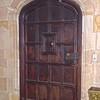 Interior View of Entrance Hall Door - VA Center for Architecture - Richmond, VA