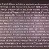 Signage: Branch House - VA Center for Architecture - Richmond, VA