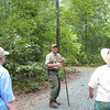 Guided Walk at Scheier Natural Area - Fluvanna County, VA - Steve Pense