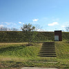 Steps to View James River - Canal Basin Square - E. Main St. - Scottsville, VA  1-6-13