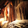 Our Tour of Shenandoah Caverns - Quicksburg, VA<br /> The beautiful flowstone, unique bacon formations and the thousands of stalactite and stalagmite formations are the result of water moving through limestone, picking up infinitesimal amounts of lime and depositing it inside the cavern.