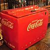 Old Coca-Cola Cooler with Bottled Sodas Inside - Shenandoah Caverns - Quicksburg, VA