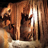 Our Tour of Shenandoah Caverns - Quicksburg, VA<br /> The coloring of the cavern comes from pigments of iron, magnesium and other minerals through which the water seeps. The limestone deposits themselves are snow white.