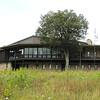 Rear View of Visitor Center - Big Meadows - Shenandoah National Park - Milepost 51