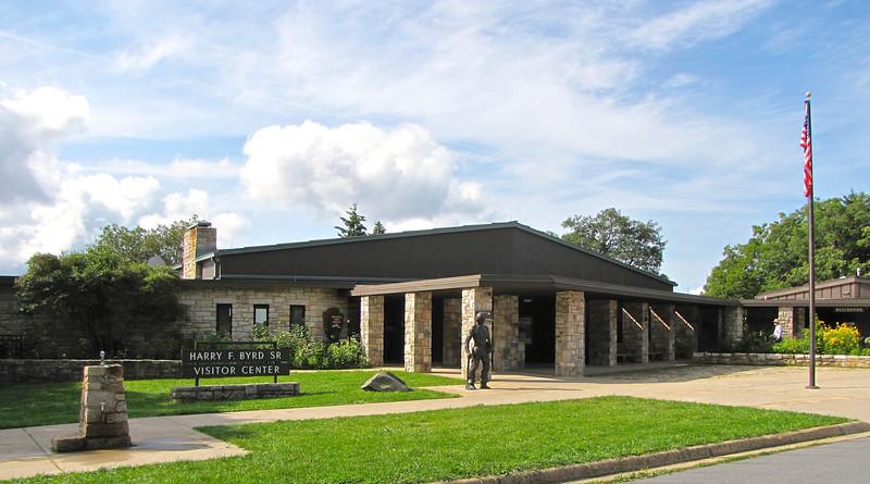 Byrd Visitor Center at Big Meadows - Shenandoah NP, VA