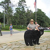 Ranger Talk on Bears - Byrd Visitor Center at Big Meadows - Shenandoah NP, VA<br /> This is actual size of an adult bear.