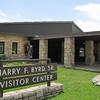 Arrival at Visitor Center Near Big Meadows for Tour of Rapidan Camp or Herbert Hoover's Camp - Shenandoah Nat'l Park  6-10-10