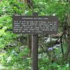 Fishing Signage at Rapidan Camp or Herbert Hoover's Camp - Shenandoah Nat'l Park  6-10-10
