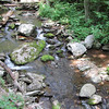 Stream by Rapidan Camp or Herbert Hoover's Camp - Shenandoah Nat'l Park  6-10-10