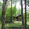 First Sighting of Rapidan Camp or Herbert Hoover's Camp - Shenandoah Nat'l Park  6-10-10