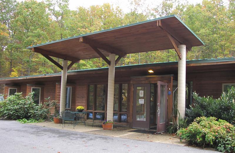 Main Entrance - The Wildlife Center, Lyndhurst, VA  10-18-09