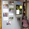 Learning Display Attracts Children - The Wildlife Center, Lyndhurst, VA  10-18-09
