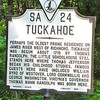 Highway Historical Marker About Tuckahoe, Thomas Jefferson's Boyhood Home - Richmond, VA