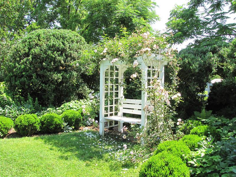Lovely and Enticing Area of the Gardens - Tuckahoe, Thomas Jefferson's Boyhood Home - Richmond, VA