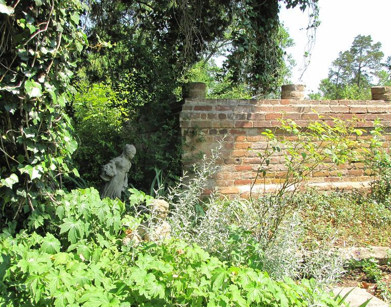 Statuary Is Hidden Around The Garden - Tuckahoe, Thomas Jefferson's Boyhood Home - Richmond, VA