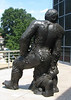 Richmond, VA - Virginia Museum of Fine Arts - Rear View of Man and Vegetation, 1983 - Sandro Chia, Italian, born 1946