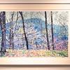 "Spring, James River Face -  by Frederick Nichols<br /> Piedmont Valley Community College Exhibit - silkscreen - 2001 -  <a href=""http://www.frednichols.com"">http://www.frednichols.com</a>"