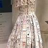 The Gambler - Karen Blackburn<br /> Piedmont Valley Community College Exhibit - Wedding Dress, Cards, Hot Glue 2008-2009