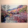 """Goshen Pass - Frederick Nichols<br /> Piedmont Valley Community College Exhibit - silkscreen, 2002 -  <a href=""""http://www.frednichols.com"""">http://www.frednichols.com</a>"""