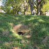 The Exit of the Tunnel Dug From the Dry Well to the River for Escape From Indians - Westover Plantation - Charles City, VA  10-23-10
