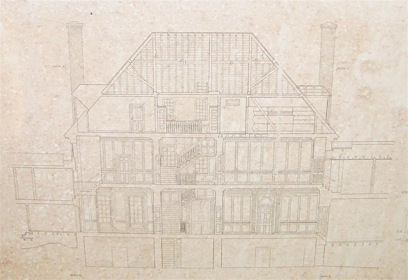 Architectural Plans of the Main House - Westover Plantation - Charles City, VA  10-23-10