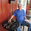 Randal Before We Began a Tic-Tac-Toe Game - White Oak Lavender Farm - Harrisonburg, VA  7-2-11