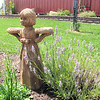 Statuary at White Oak Lavender Farm - Harrisonburg, VA  7-2-11