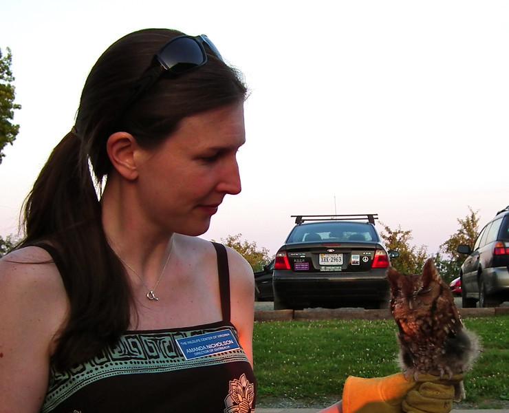 Amanda and Pignoli - The Wildlife Center Benefit at Carter Mountain Orchard, Charlottesville, VA  6-9-12