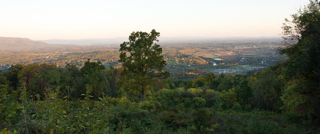 Early morning at Shenandoah National Park - 19 October 2013