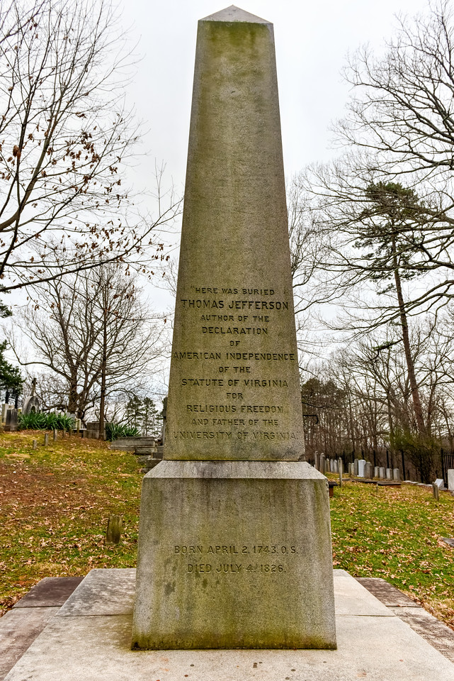 Grave of Thomas Jefferson