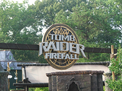 The Tomb Raider ride