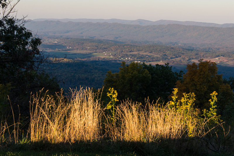 Early morning at Shenandoah National Park - 19 October 2013