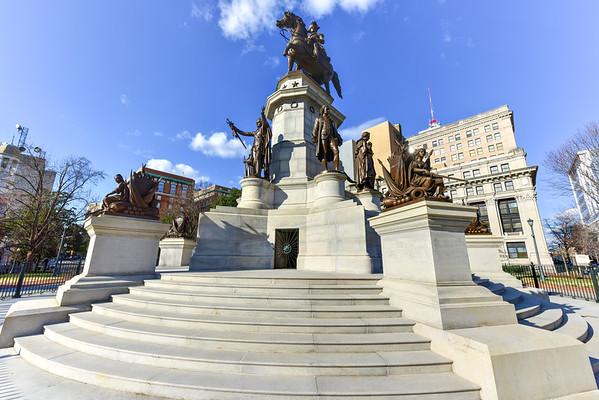 Washington Equestrian Monument - Richmond Virginia