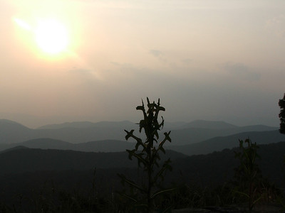 Sunset at Shenandoah