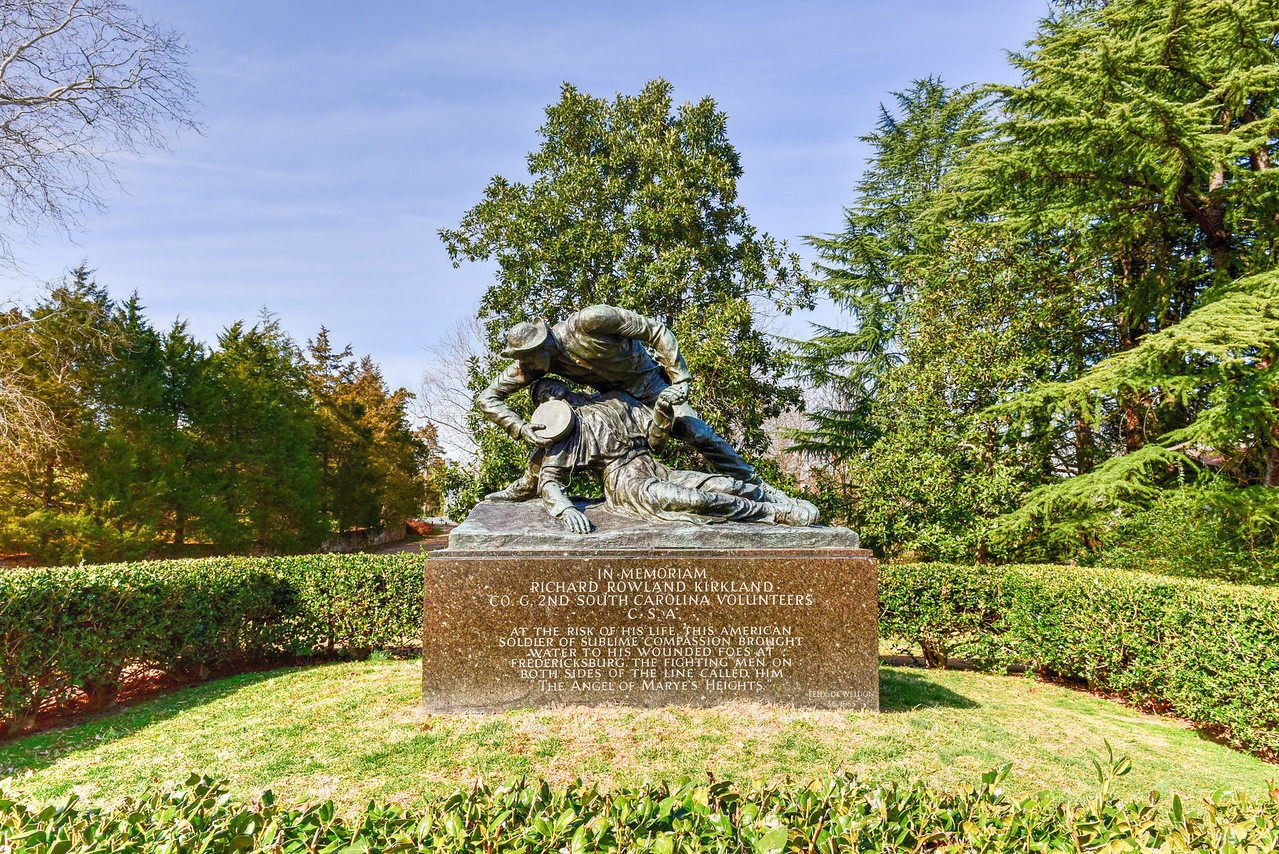 Richard Rowland Kirkland Monument - Fredericksburg, Virginia