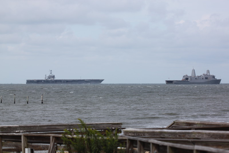 "<a href=""http://www.13newsnow.com/news/military/uss-george-washington-deploys-for-hurricane-matthew-relief/328913754"">http://www.13newsnow.com/news/military/uss-george-washington-deploys-for-hurricane-matthew-relief/328913754</a><br /> <br /> Source: 13News"