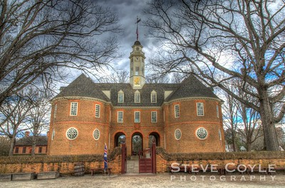 The Capitol of Colonial Virginia in Williamsburg, VA.