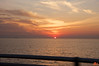 Sunset over the Atlantic, taken from the head of the Chesapeake Bay Bridge-Tunnel (which is 28km long). We picked up just after sunset in Virginia Beach.<br /> IMG_2434