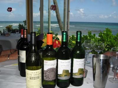 St. Croix wine tasting