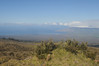 View from road on bike descent from Haleakala