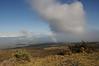 Scene from bike descent of Haleakala Volcano
