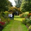 Walking in the garden of Castle Kennedy