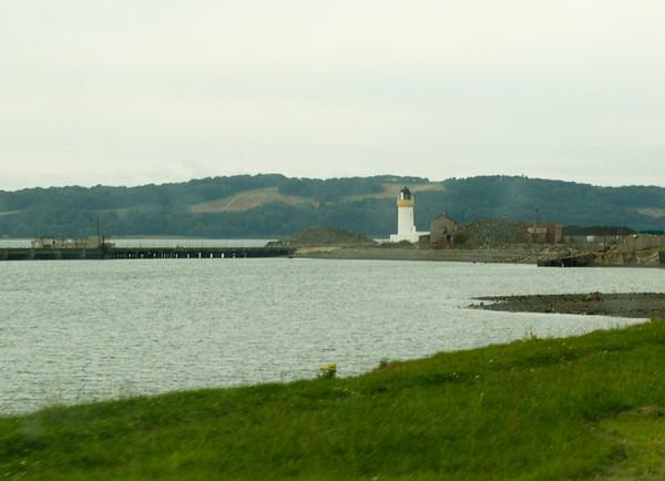 Lighthouse on Loch Ryan