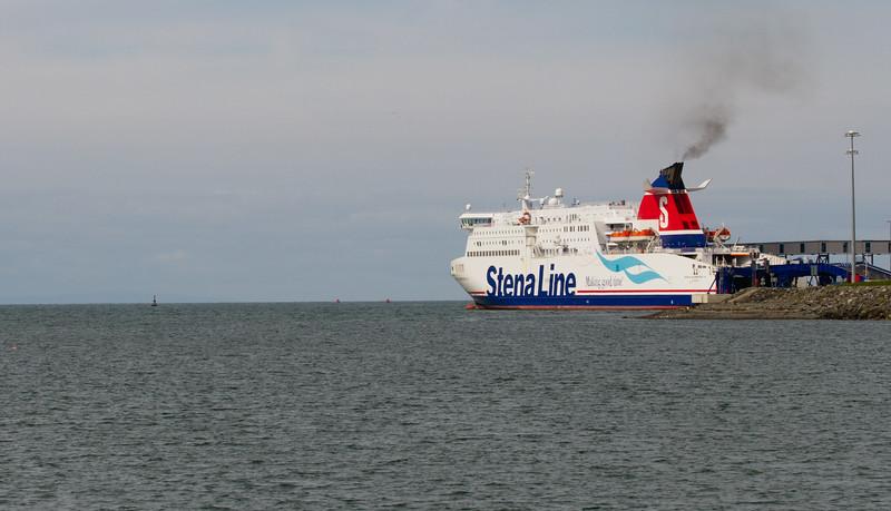 Ferry headed to Ireland