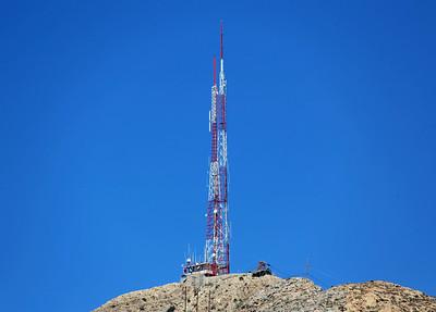 Antenna above El Paso
