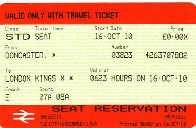 Visit to London - September 2010