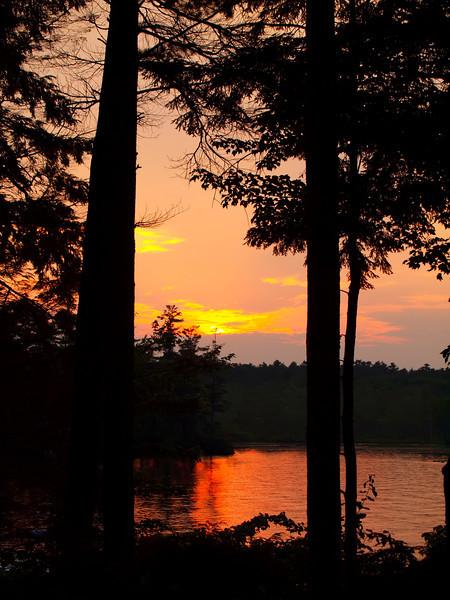 Sunset at Langdon Cove