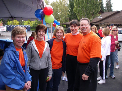 Visit to Oakland CA Area and American Heart Association Benefit Walk September 22-23, 2007