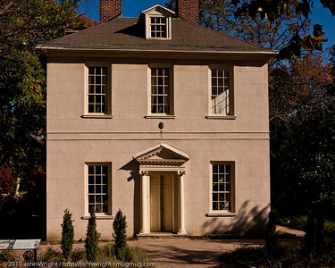 The Solitude, built by John Penn in 1784.